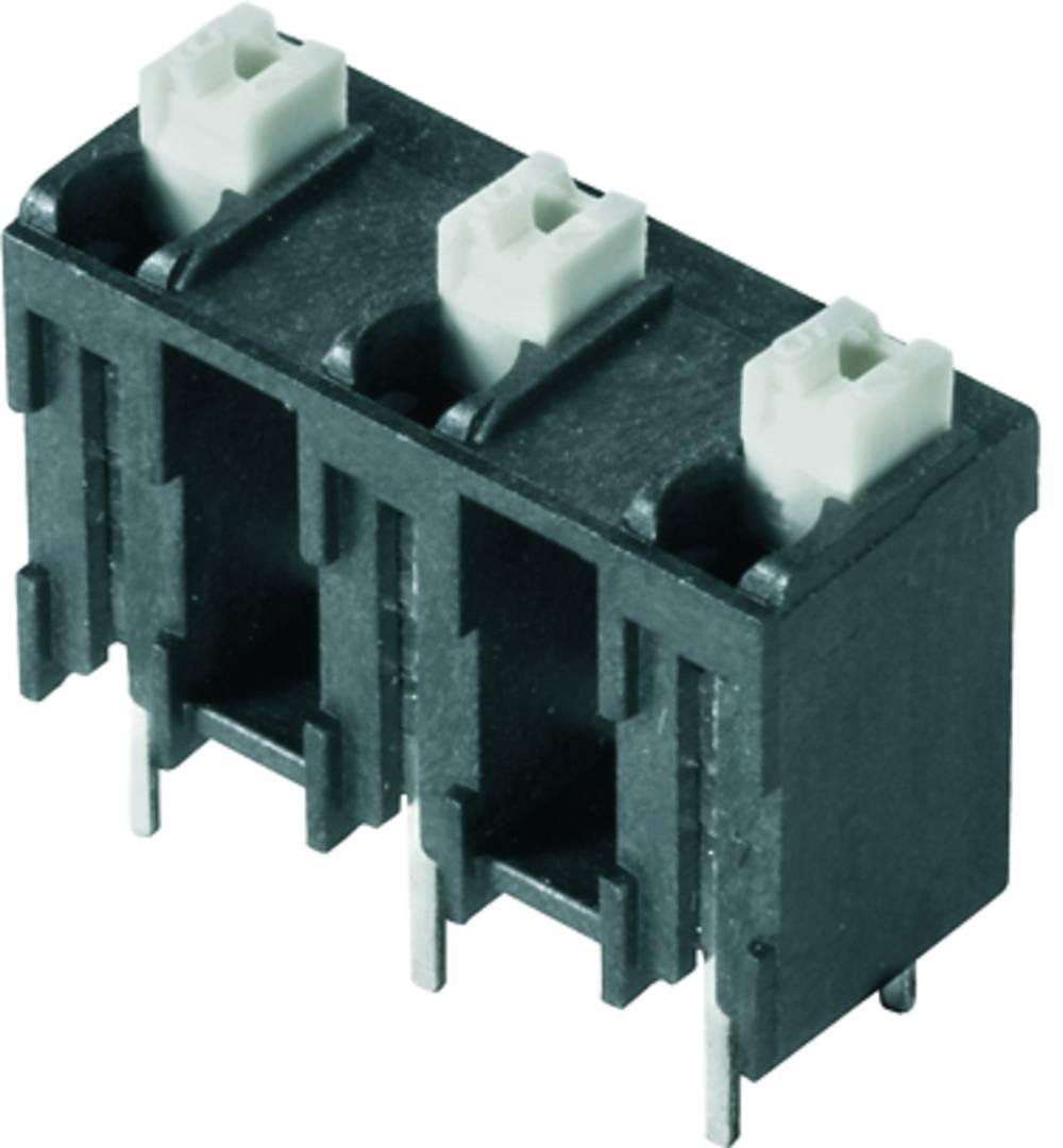 Fjederkraftsklemmeblok Weidmüller LSF-SMT 7.62/03/180 3.5SN BK TU 1.50 mm² Poltal 3 Sort 28 stk