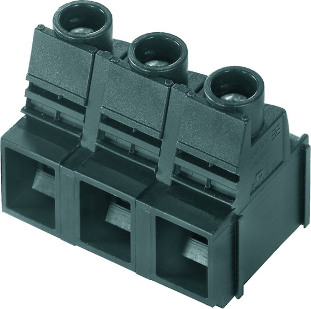 Skrueklemmeblok Weidmüller LUP 12.70/08/90 3.2SN GY BX 16.00 mm² Poltal 8 Grå 20 stk