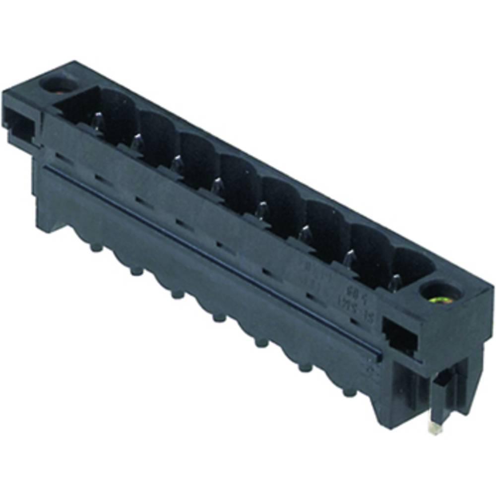 Konektor tiskanega vezja Weidmüller vsebuje: 20 kosov