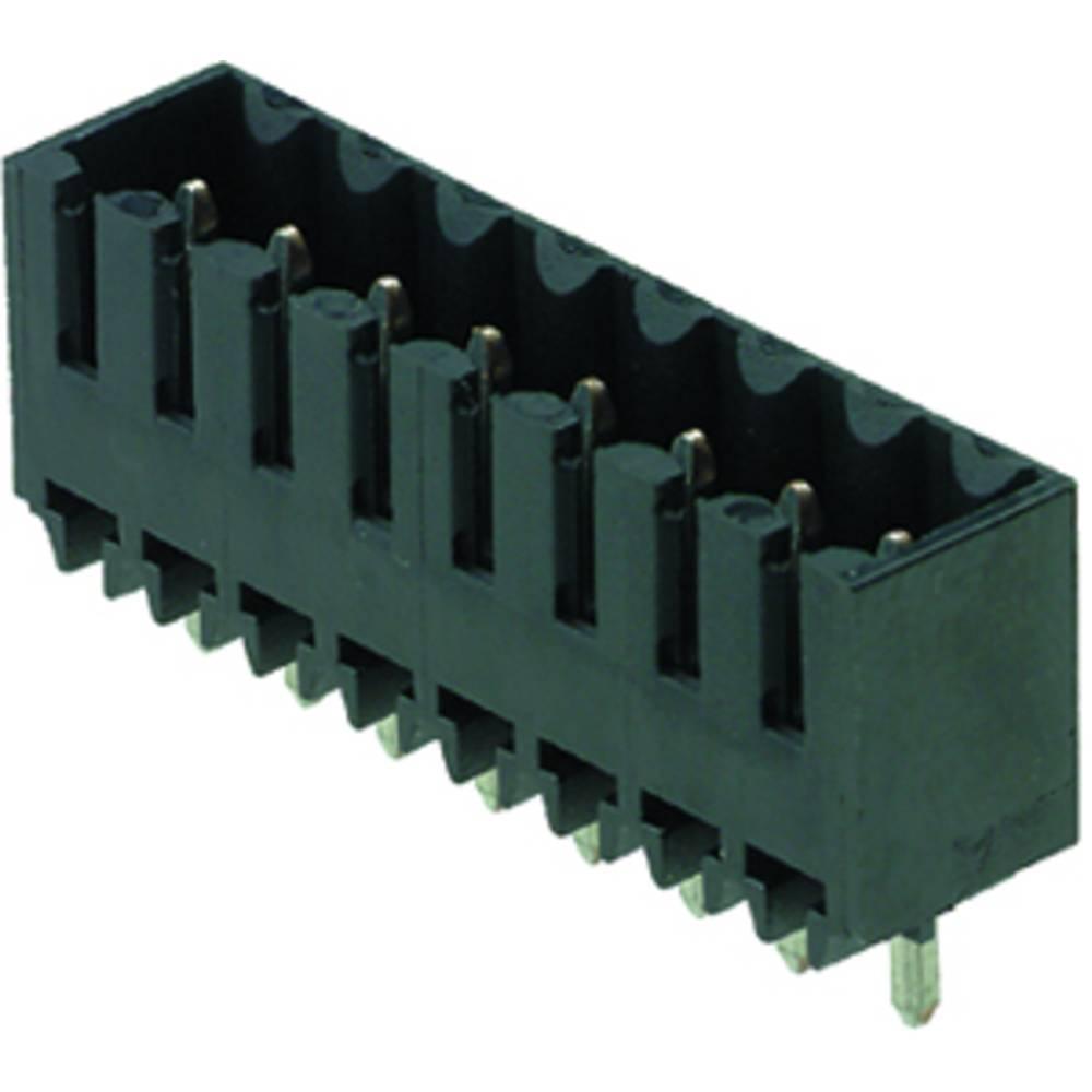 Vtični konektor za tiskana vezja črne barve Weidmüller 1842380000 vsebuje: 50 kosov