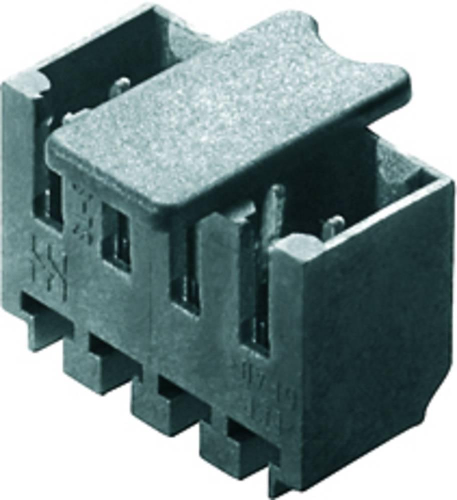 Vtični konektor za tiskana vezja črne barve Weidmüller 1842430000 vsebuje: 50 kosov