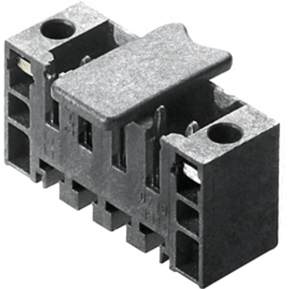 Vtični konektor za tiskana vezja črne barve Weidmüller 1842760000 vsebuje: 20 kosov