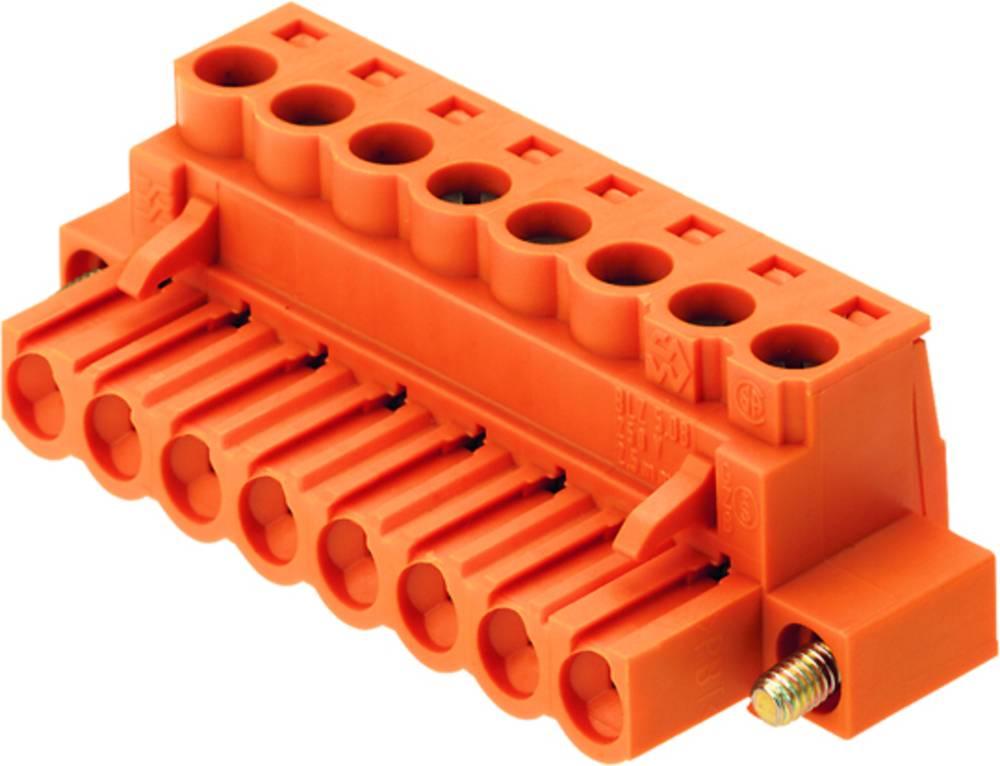 Tilslutningskabinet-kabel BL Samlet antal poler 5 Weidmüller 1843320000 Rastermål: 5 mm 48 stk