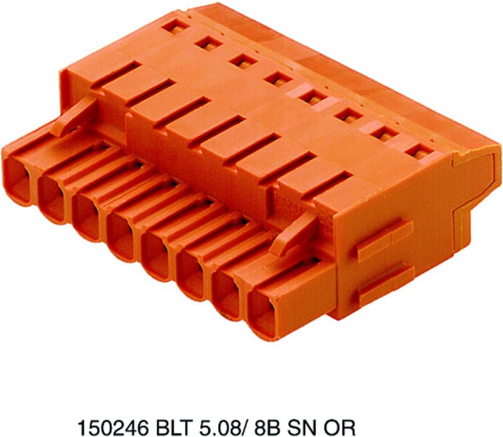 Tilslutningskabinet-kabel BL/SL Samlet antal poler 15 Weidmüller 1844120000 Rastermål: 5.08 mm 18 stk
