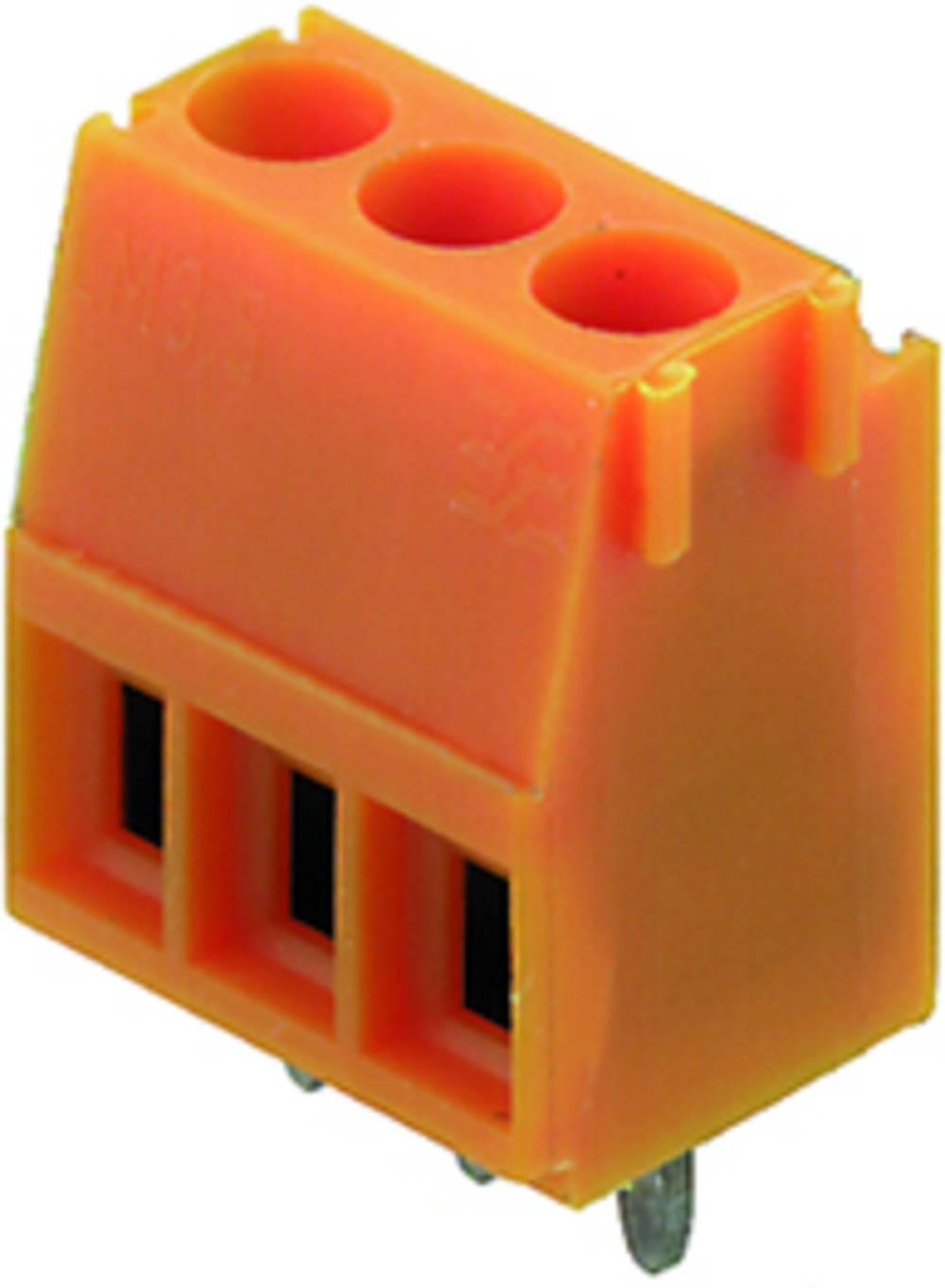 Skrueklemmeblok Weidmüller LM 3.50/08/90 3.2SN OR BX 1.50 mm² Poltal 8 Orange 50 stk