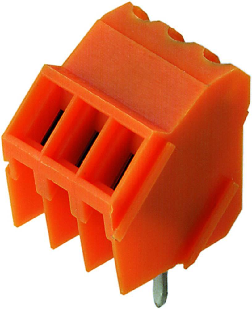 Skrueklemmeblok Weidmüller LM 3.50/08/135 3.2SN OR BX 1.50 mm² Poltal 8 Orange 50 stk