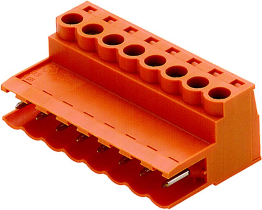 Stiftkabinet-kabel BL/SL 5.08 Samlet antal poler 12 Weidmüller 1846090000 Rastermål: 5.08 mm 10 stk