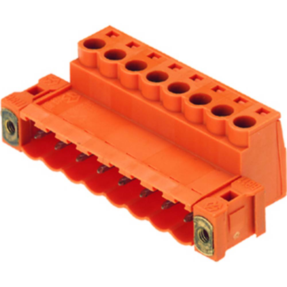 Konektor tiskanega vezja Weidmüller vsebuje: 18 kosov