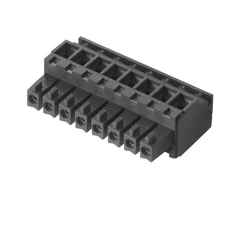Tilslutningskabinet-kabel BC/SC Samlet antal poler 7 Weidmüller 1858960000 Rastermål: 3.81 mm 50 stk