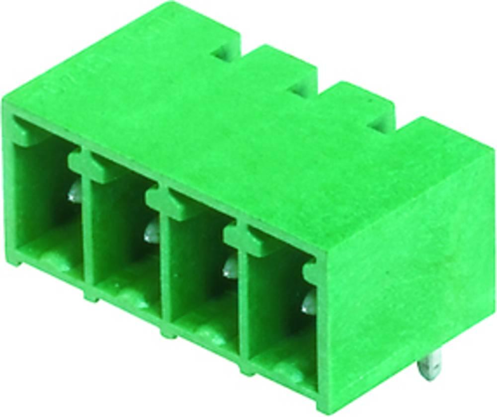Vtični konektor za tiskana vezja črne barve Weidmüller 1862490000 vsebuje: 50 kosov