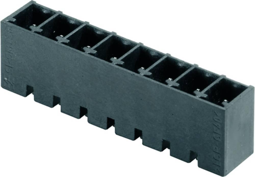 Vtični konektor za tiskana vezja črne barve Weidmüller 1863900000 vsebuje: 50 kosov