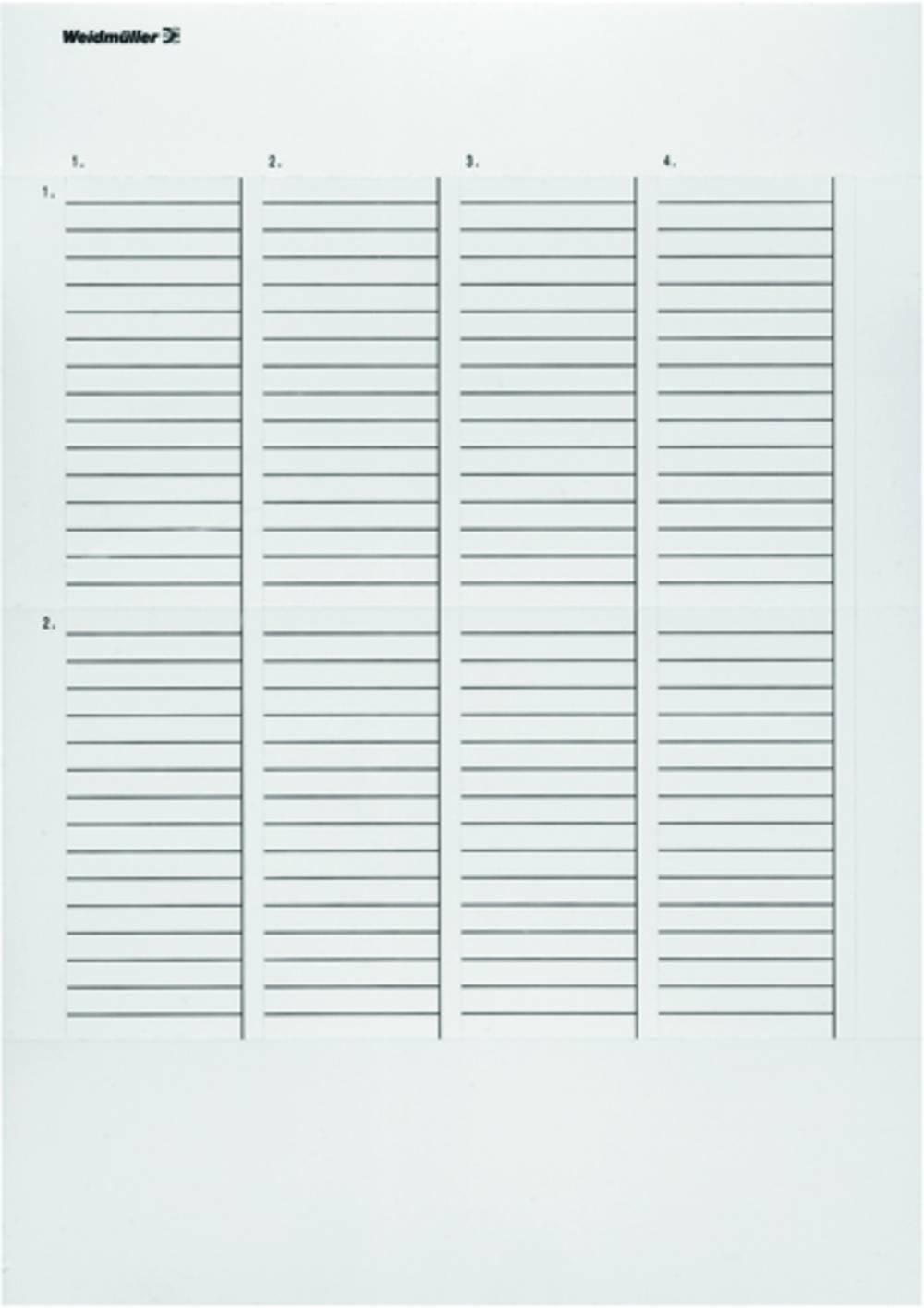 Printsystem printer Weidmüller ET S7-400-TU-A4-3 1865490000 10 stk Antal markører 140 Turkis
