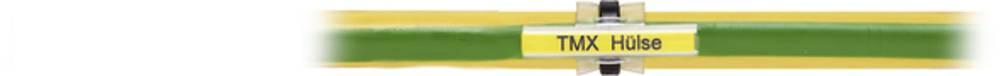Markeringsophæng Weidmüller TMX 30 V0 1866680000 400 stk Antal markører 40 Transparent