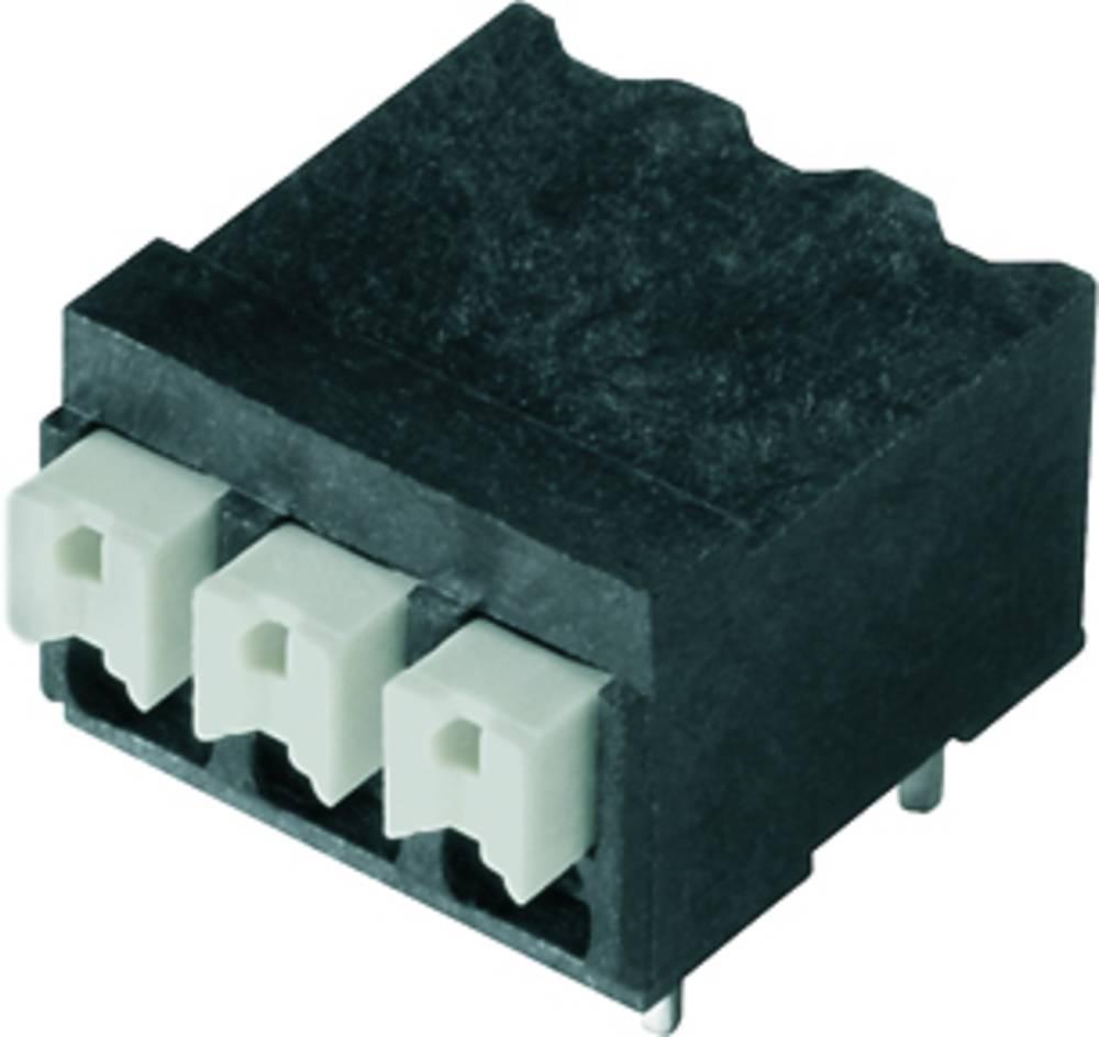 Fjederkraftsklemmeblok Weidmüller LSF-SMT 3.81/07/90 1.5SN BK TU 1.50 mm² Poltal 7 Sort 20 stk
