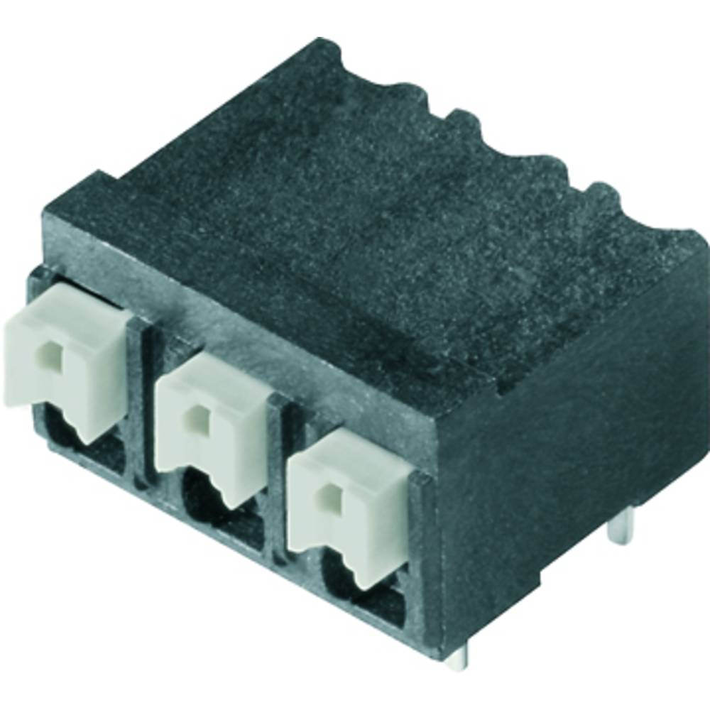 Fjederkraftsklemmeblok Weidmüller LSF-SMT 5.08/04/90 1.5SN BK TU 1.50 mm² Poltal 4 Sort 28 stk