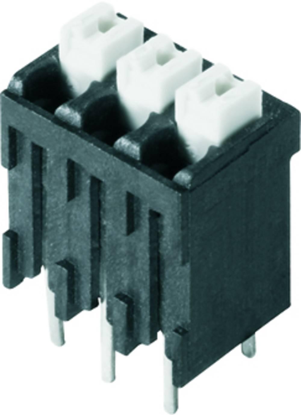 Fjederkraftsklemmeblok Weidmüller LSF-SMT 3.81/22/180 3.5SN BK TU 1.50 mm² Poltal 22 Sort 6 stk
