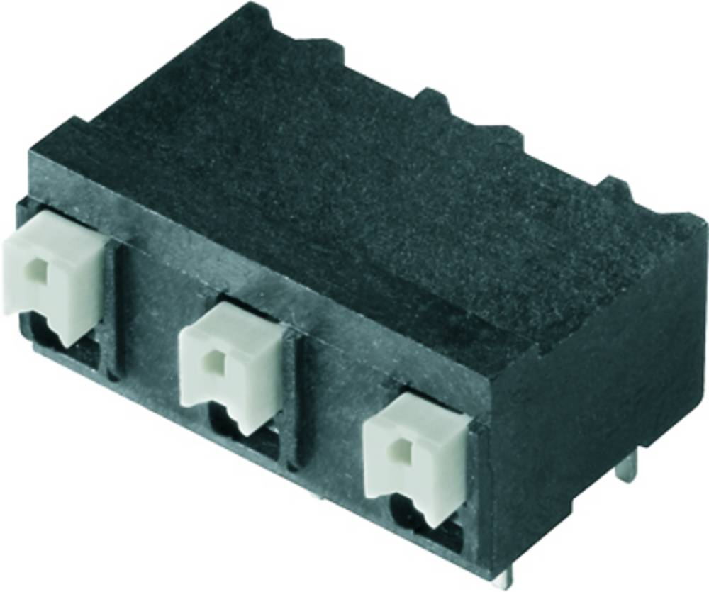 Fjederkraftsklemmeblok Weidmüller LSF-SMT 7.62/02/90 1.5SN BK RL 1.50 mm² Poltal 2 Sort 265 stk