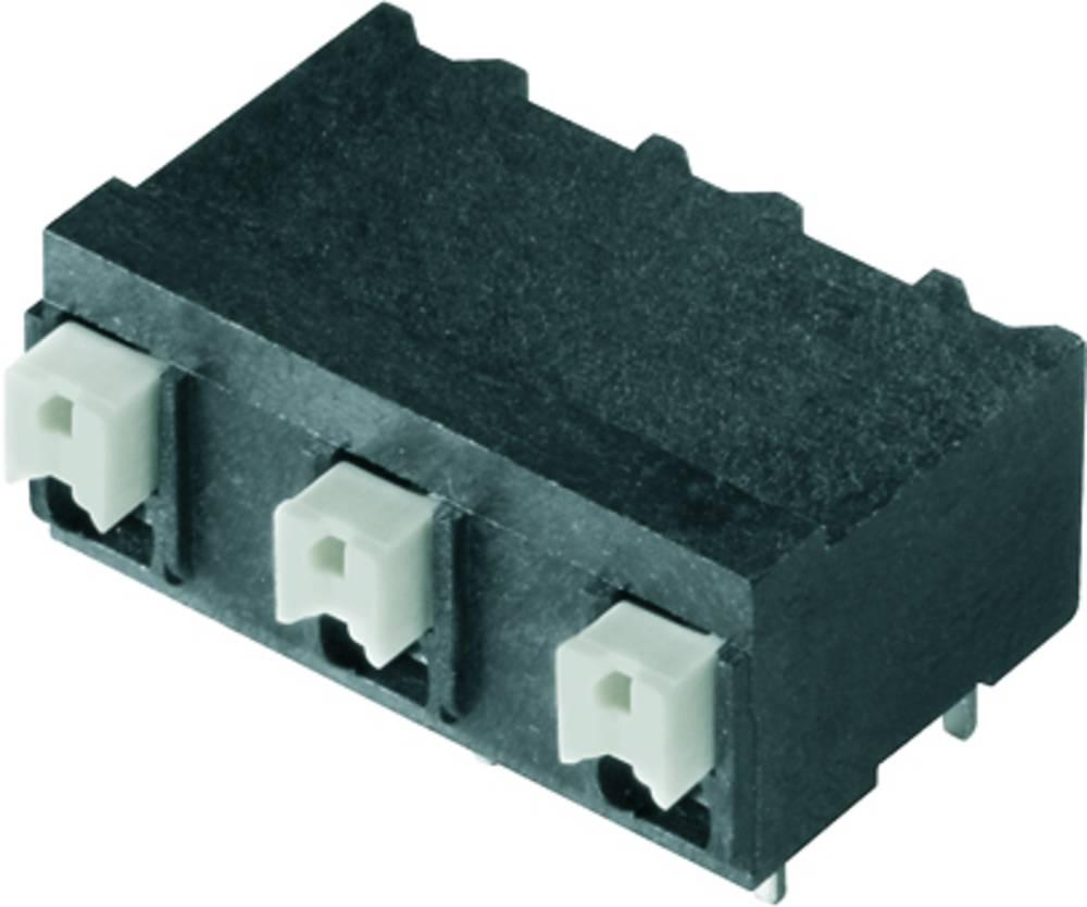 Fjederkraftsklemmeblok Weidmüller LSF-SMT 7.50/06/90 3.5SN BK RL 1.50 mm² Poltal 6 Sort 265 stk