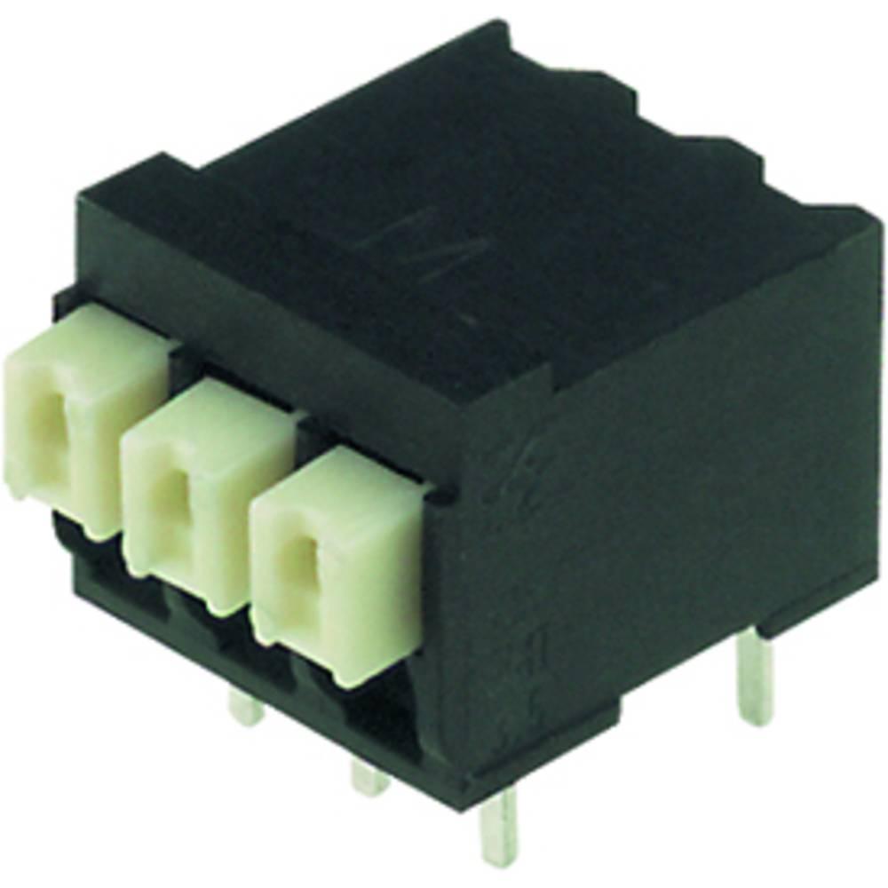 Fjederkraftsklemmeblok Weidmüller LSF-SMT 3.50/06/90 3.5SN BK RL 1.50 mm² Poltal 6 Sort 265 stk