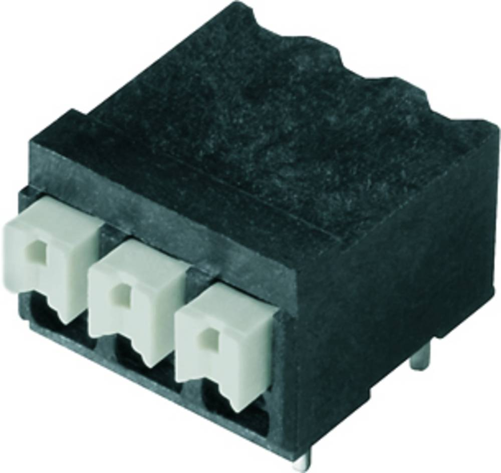 Fjederkraftsklemmeblok Weidmüller LSF-SMT 3.81/02/90 1.5SN BK RL 1.50 mm² Poltal 2 Sort 265 stk