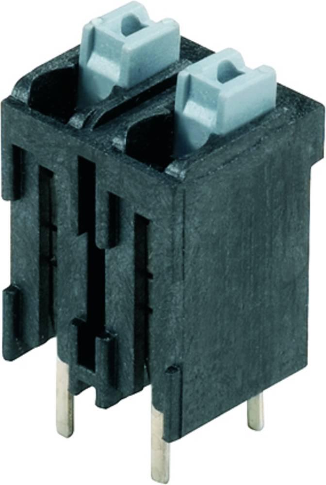Fjederkraftsklemmeblok Weidmüller LSF-SMT 5.08/07/180 3.5SN BK RL 1.50 mm² Poltal 7 Sort 175 stk