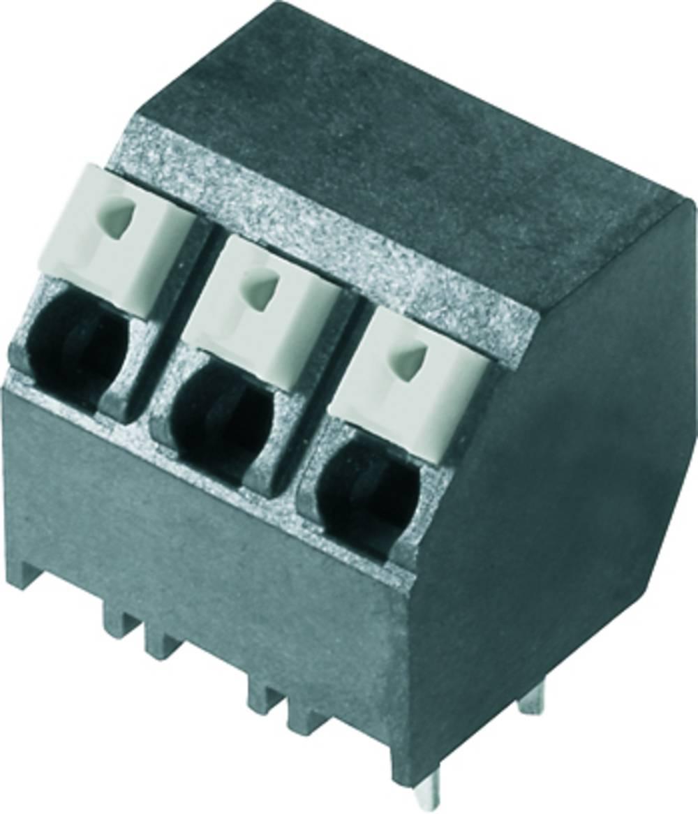 Fjederkraftsklemmeblok Weidmüller LSF-SMT 5.08/09/135 3.5SN BK TU 1.50 mm² Poltal 9 Sort 12 stk