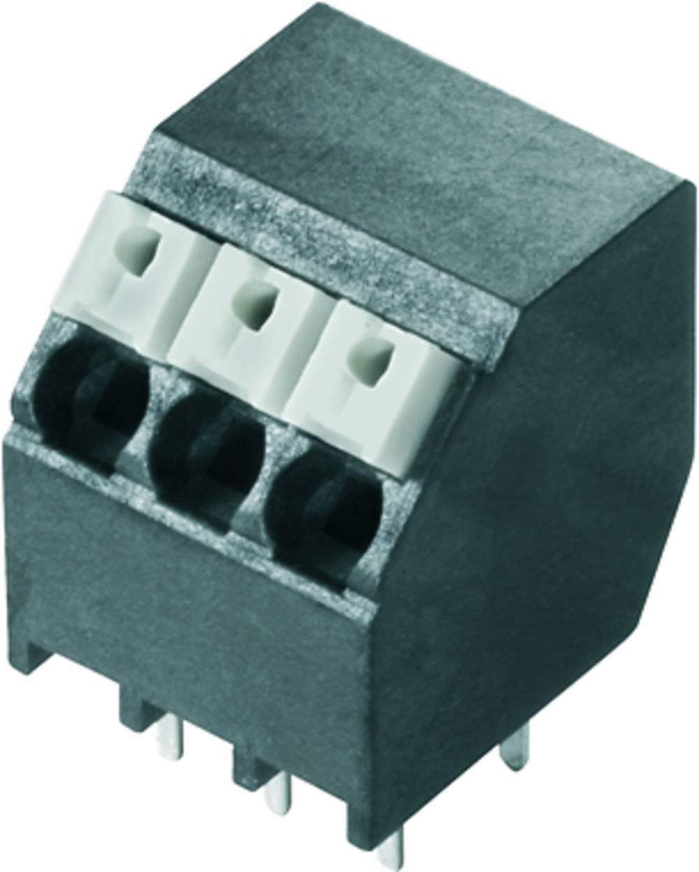 Fjederkraftsklemmeblok Weidmüller LSF-SMT 3.81/24/135 3.5SN BK TU 1.50 mm² Poltal 24 Sort 6 stk