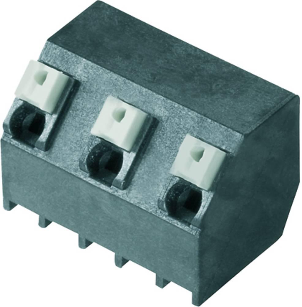 Fjederkraftsklemmeblok Weidmüller LSF-SMT 7.62/03/135 3.5SN BK TU 1.50 mm² Poltal 3 Sort 28 stk