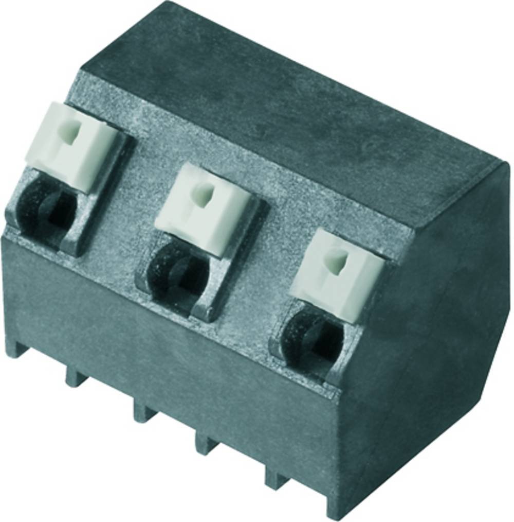 Fjederkraftsklemmeblok Weidmüller LSF-SMT 7.62/03/135 1.5SN BK RL 1.50 mm² Poltal 3 Sort 190 stk