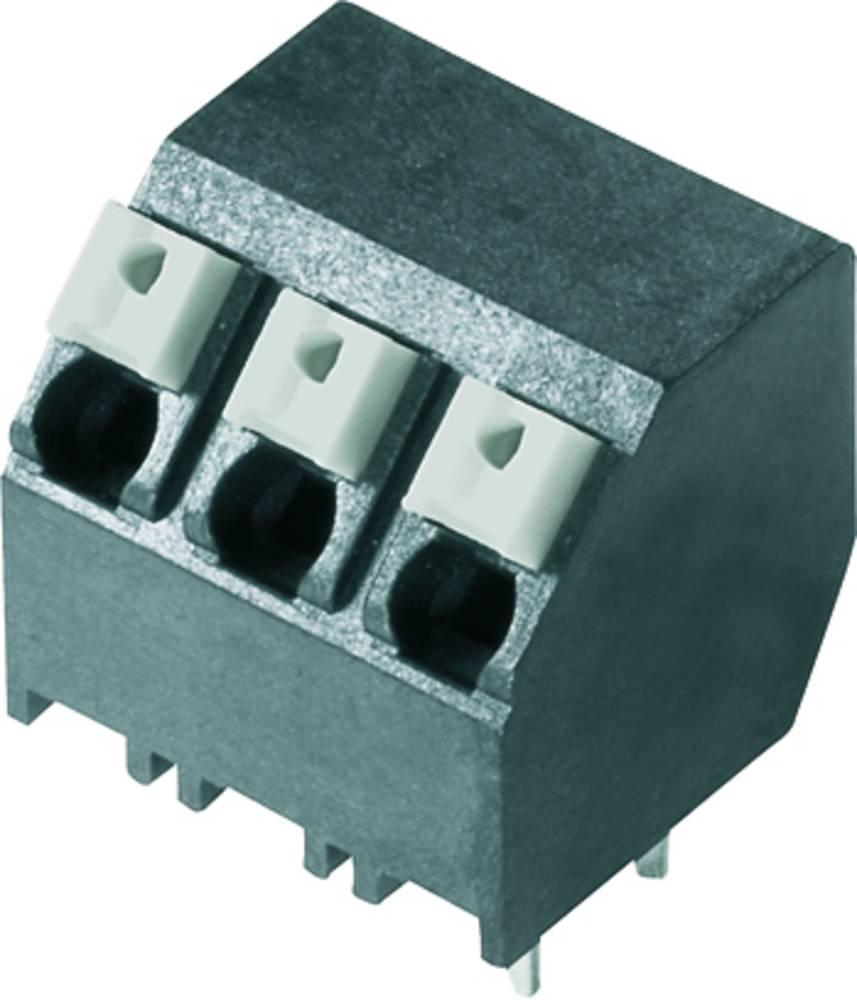 Fjederkraftsklemmeblok Weidmüller LSF-SMT 5.08/06/135 1.5SN BK RL 1.50 mm² Poltal 6 Sort 190 stk