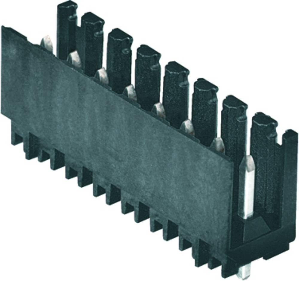 Vtični konektor za tiskana vezja oranžne barve Weidmüller 1891200000 vsebuje: 50 kosov