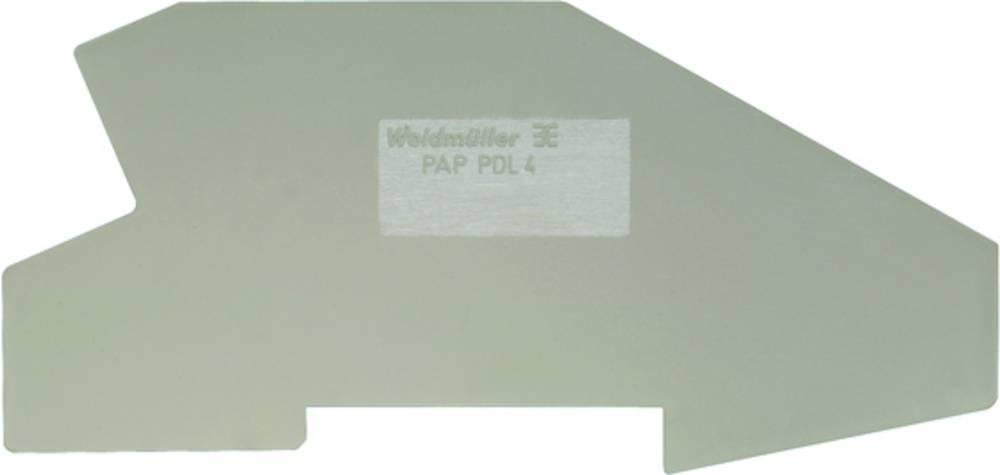 endeplade PAP 2.5/4/4AN 1896320000 Weidmüller 50 stk