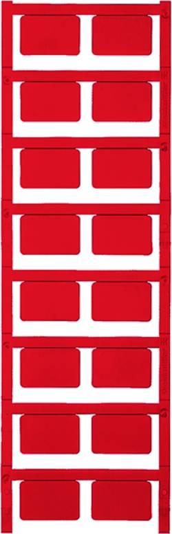 Apparatmarkör Weidmüller SM 27/18 NEUTRAL ROT 1906110000 80 st Antal märkningar 80 Röd