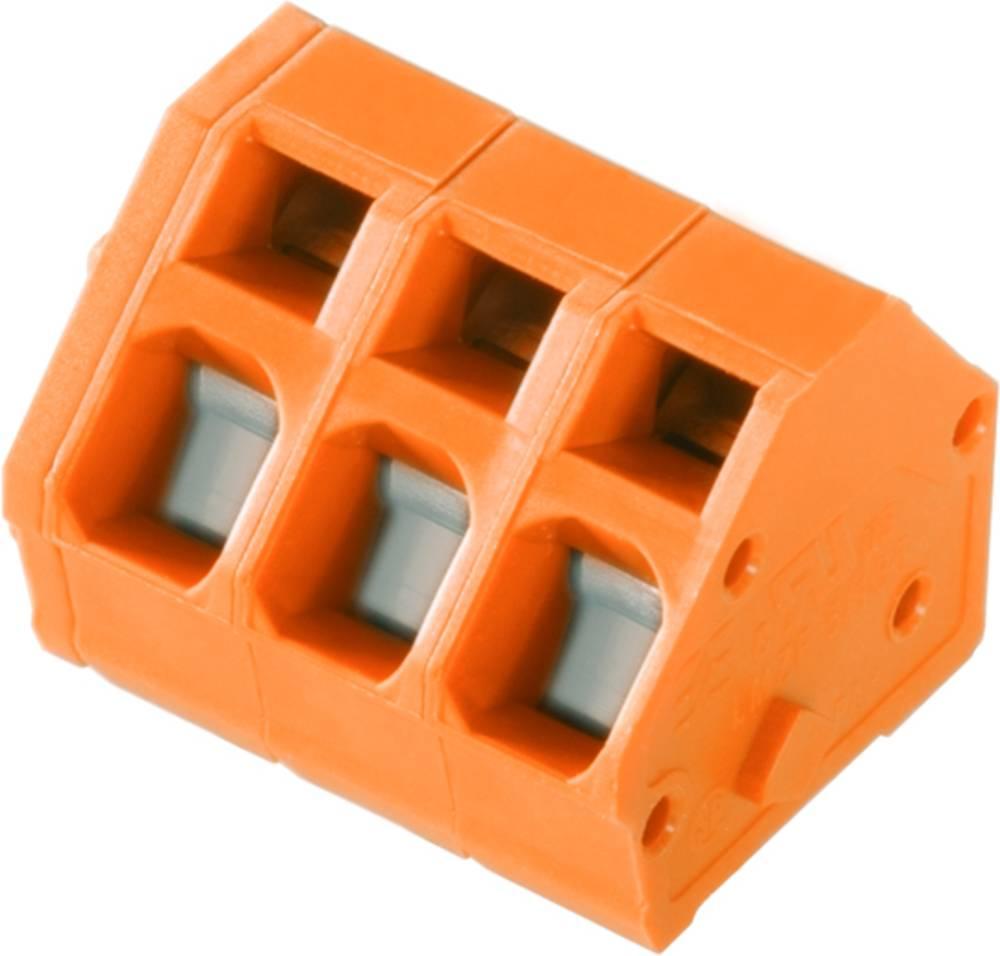 Fjederkraftsklemmeblok Weidmüller LMZF 5/3/135 3.5OR 2.50 mm² Poltal 3 Orange 100 stk