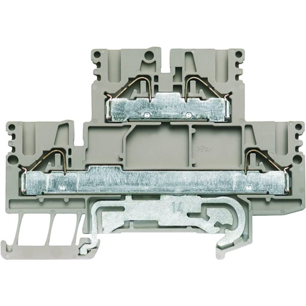 Dobbelt-niveau modulopbygget terminal Weidmüller PDK 2.5/4N-PE 1918750000 50 stk