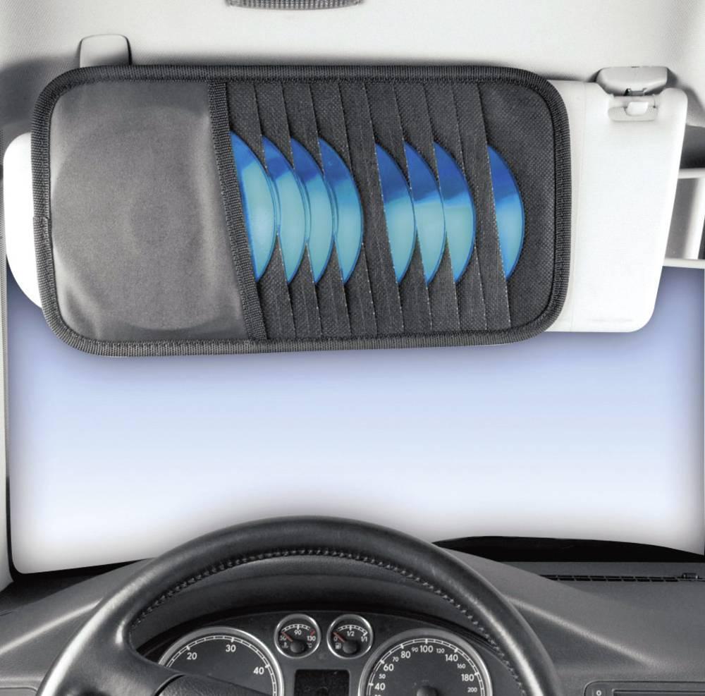 Etui za CD-e Hama za štitnik od sunca u automobilu, 10 CD-a, plava