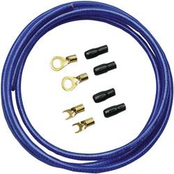 Car HiFi strømkabel-sæt Sinuslive BK-10M BK-10M Blå 1 PAK