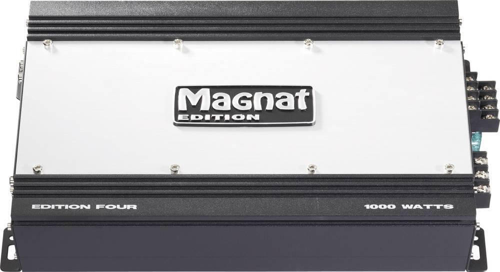 4-kanals sluttrin Magnat Edition Four 560 W Sort/sølv
