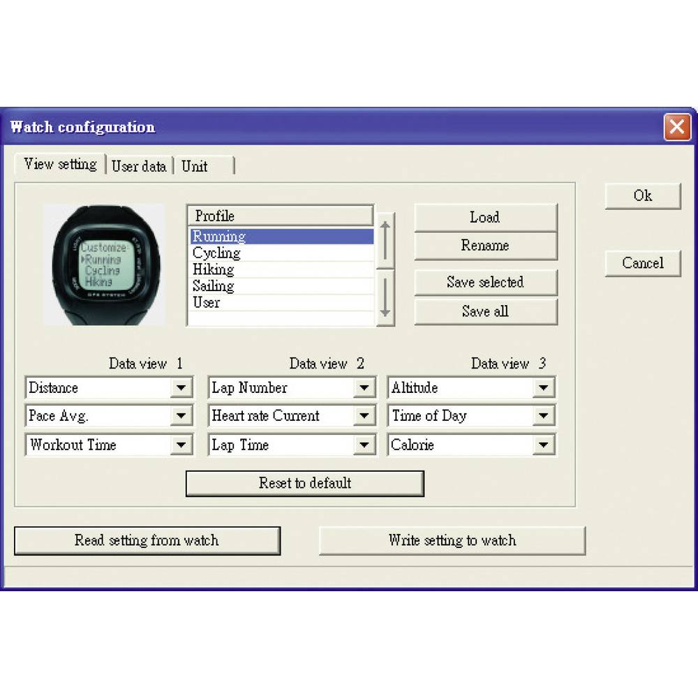 Multi Nav 3 Gps Heart Rate Monitor Watch With Chest Strap From Photo Of A Showing And