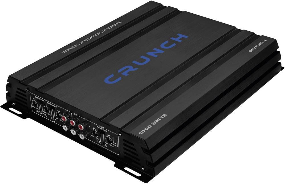 4-kanals sluttrin Crunch GPX-1000.4 500 W Sort