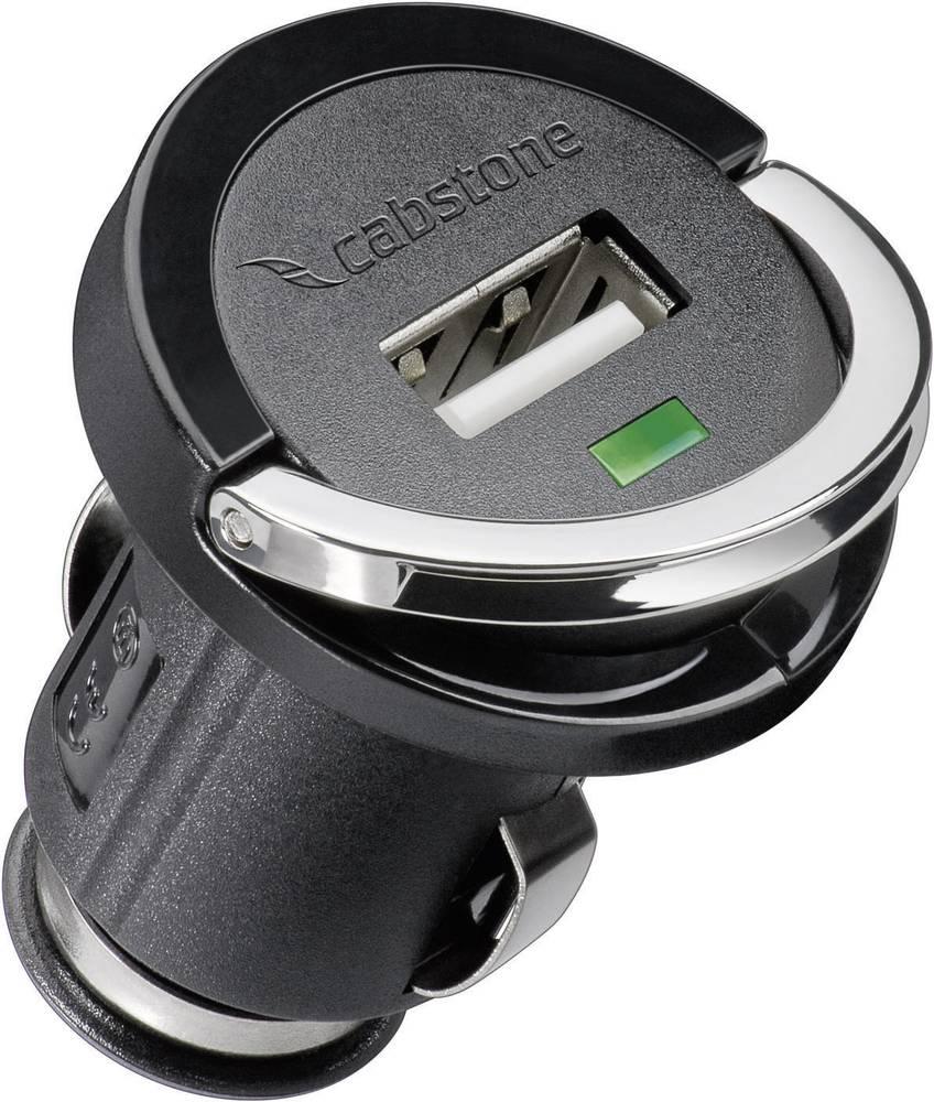 USB adapterski punjač, Cabstone, 12-24 V 63418