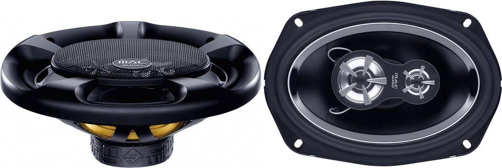 3-sistemski triaksialni vgradni zvočnik za avtomobile 360 W Mac Audio MPE 69.3