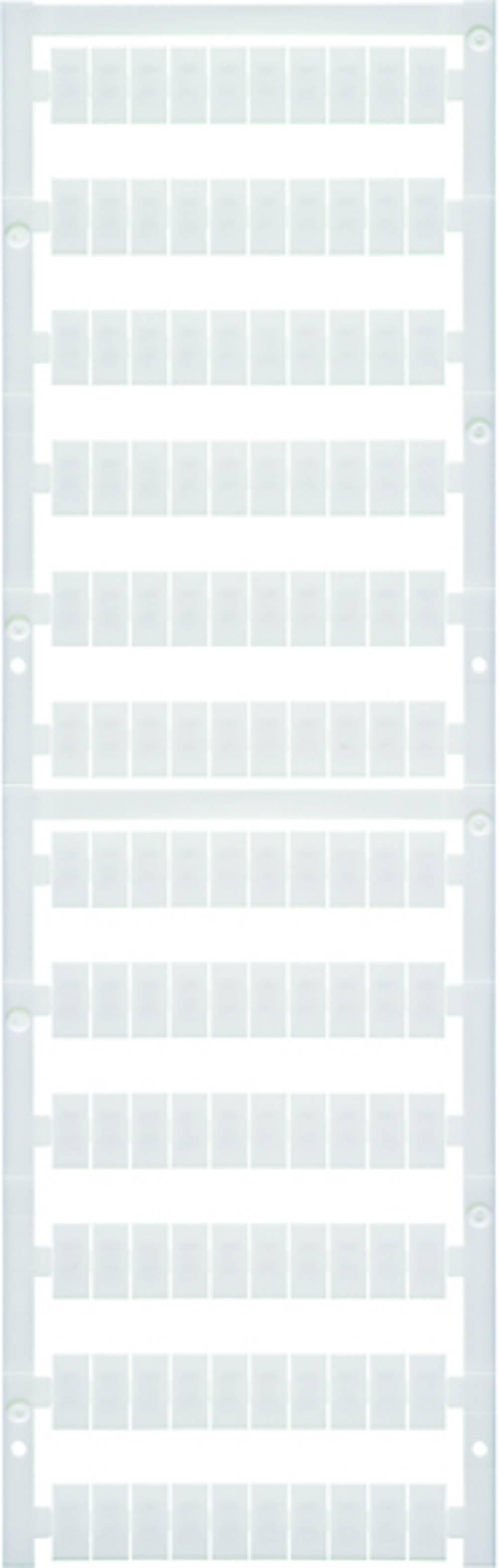 Enhed markører MultiCard WS 12/6 PLUS MC NEUTRAL 1927530000 Hvid Weidmüller 600 stk