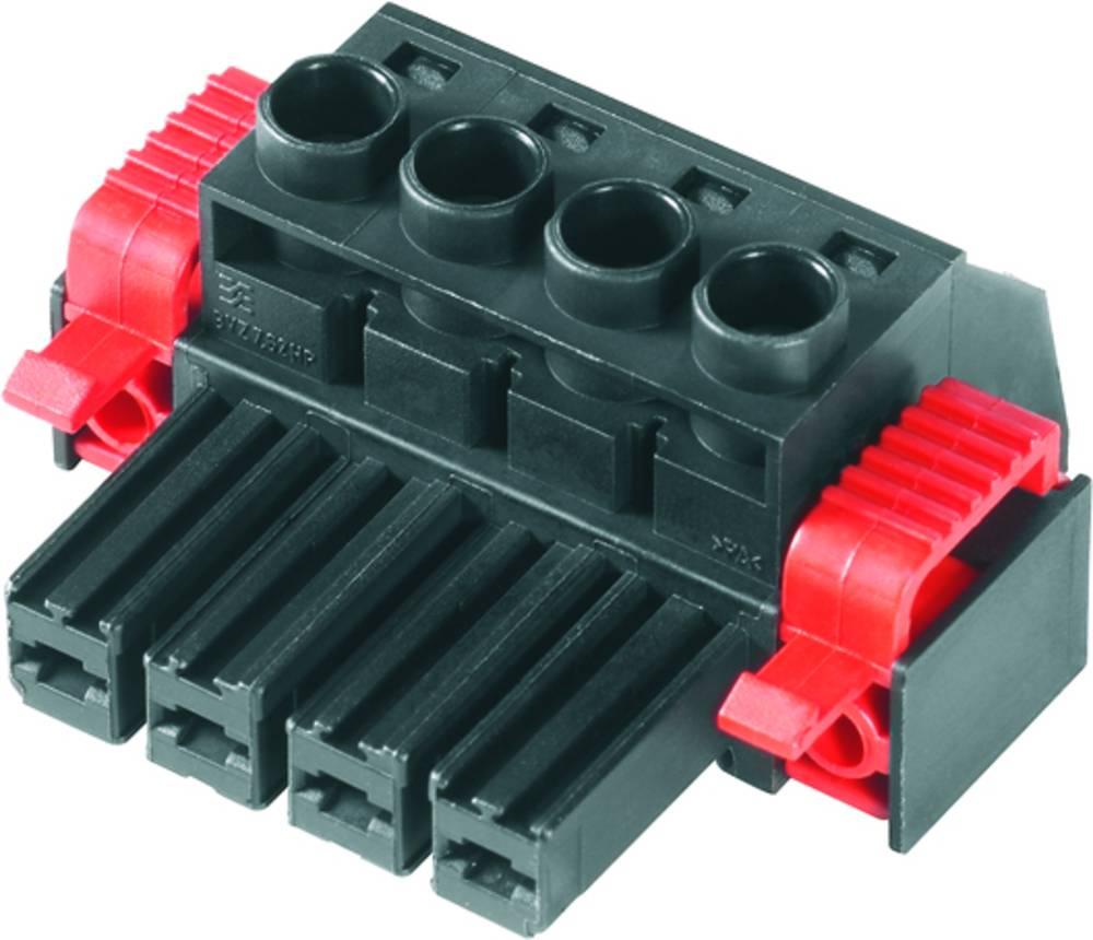 Tilslutningskabinet-kabel BV/SV Samlet antal poler 4 Weidmüller 1930070000 Rastermål: 7.62 mm 100 stk