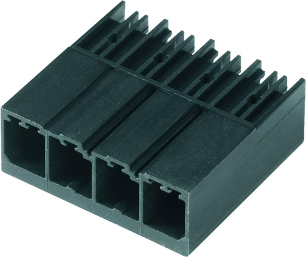 Vtični konektor za tiskana vezja črne barve Weidmüller 1930270000 vsebuje: 120 kosov