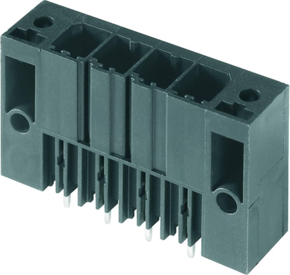Vtični konektor za tiskana vezja črne barve Weidmüller 1930830000 vsebuje: 48 kosov