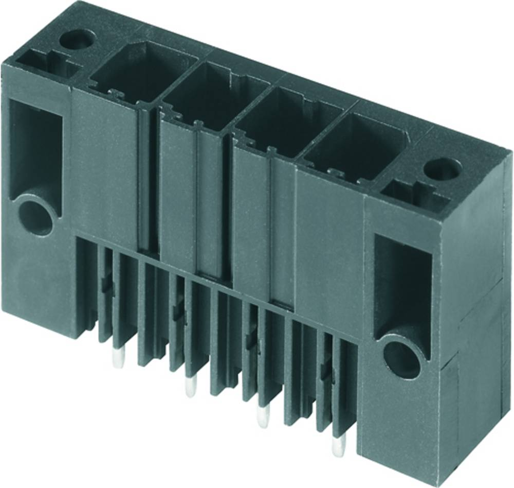 Vtični konektor za tiskana vezja črne barve Weidmüller 1930870000 vsebuje: 24 kosi