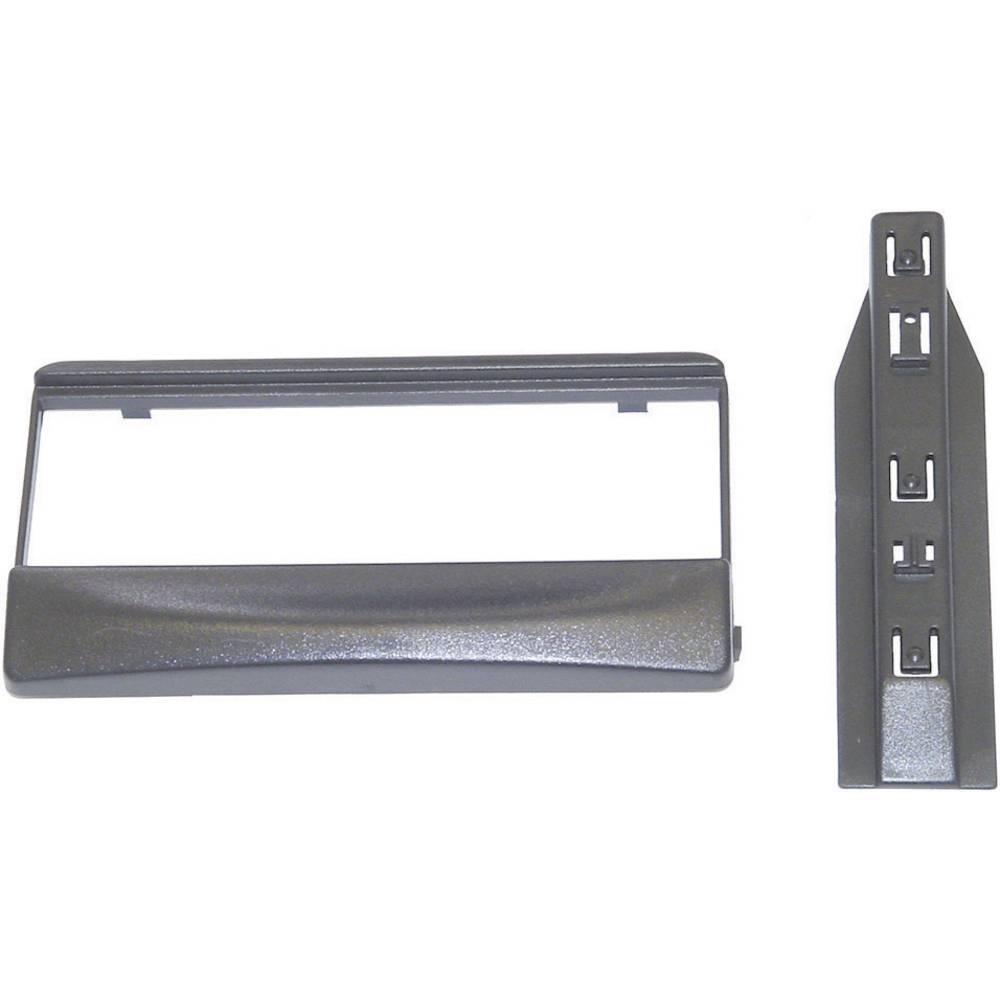 Bilradio indbygningsblændstykke AIV AR-Einbaublende DIN (10C535) Ford Escort fra 02.95 Antracit