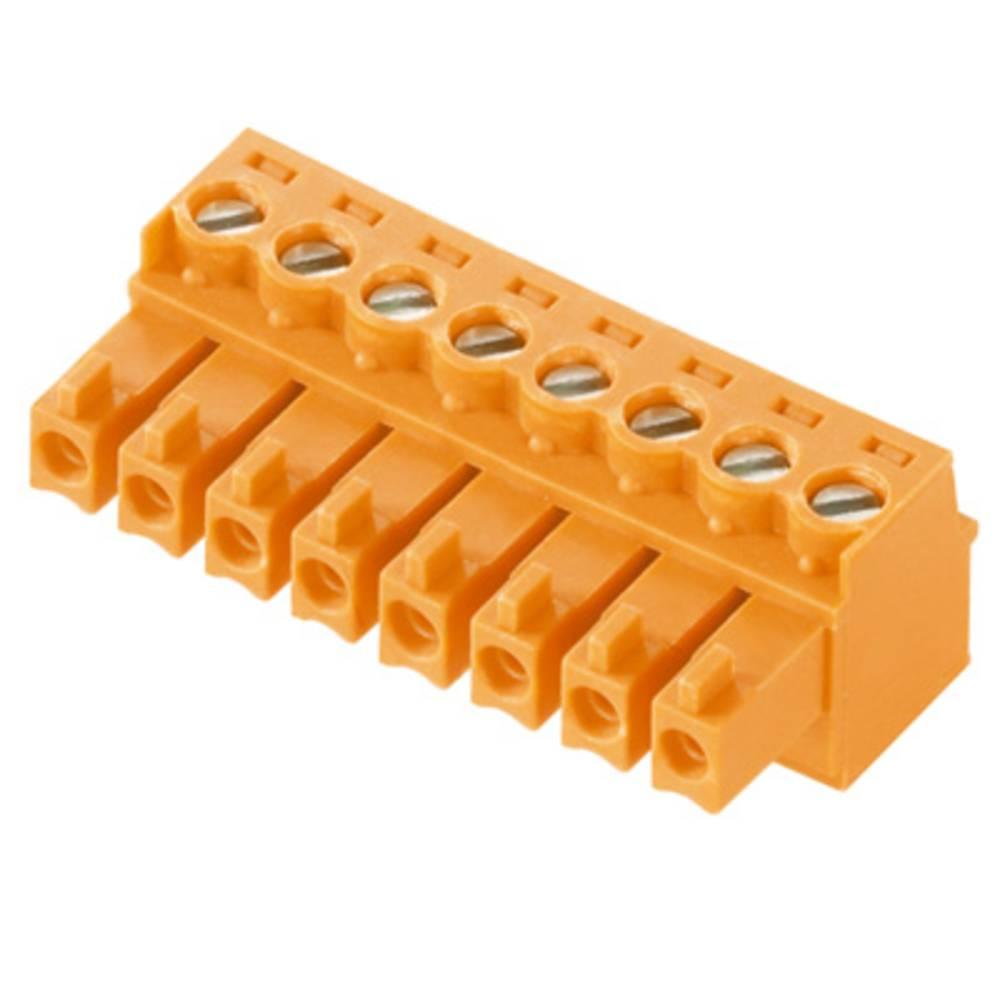 Tilslutningskabinet-kabel BC/SC Samlet antal poler 7 Weidmüller 1940780000 Rastermål: 3.81 mm 50 stk
