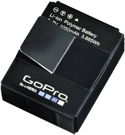 Image of Camera battery GoPro replaces original battery AHDBT-301, 3661086 Hero HD3, 3+